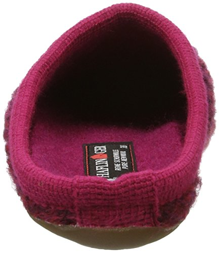 Haflinger Everest Soho - Pantuflas Mujer Rosa (Fuchsia)
