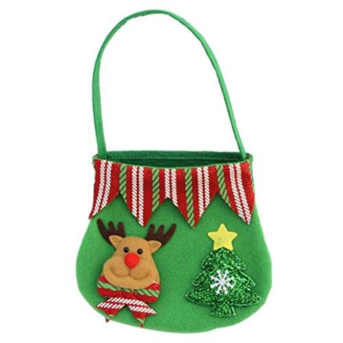 Gourmet Favor (Christmas Gift Bag, Paymenow Candy Bag Merry Christmas Candy Bags Home Decor Holiday Wrap Wedding Party Christmas Favor Gift Bags (C))