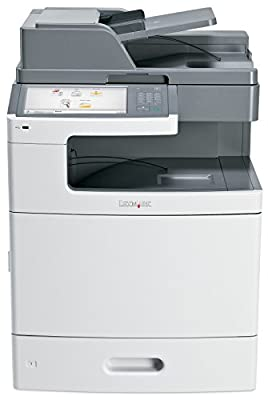 Lexmark 47B1000 (X792DE) Color Laser Printer with Scanner, Copier & Fax