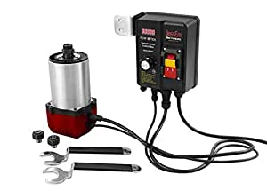 JessEm Pow R Tek 3-1/4 HP Woodworking Router Motor with EVS Remote Control Box