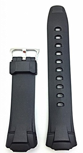 Style Polyurethane (17mm G Shock Style, Rubber Polyurethane (PU) Material Black Bracelet Watch Band | Comfortable, Tough, Durable Replacement Wrist Strap that brings New Life to Any Watch (for Men and Women))