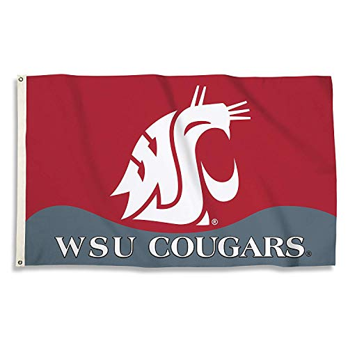 (NCAA Washington State Cougars 3-by-5 Foot Flag with Grommets)