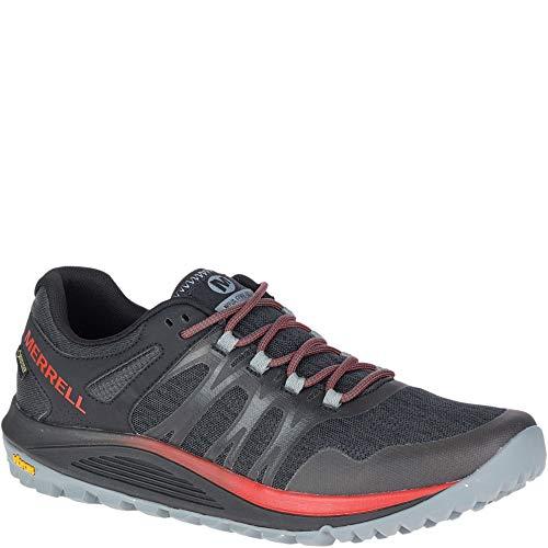 Merrell Men's NOVA Gore-TEX Sneaker, Black, 11.5 M US
