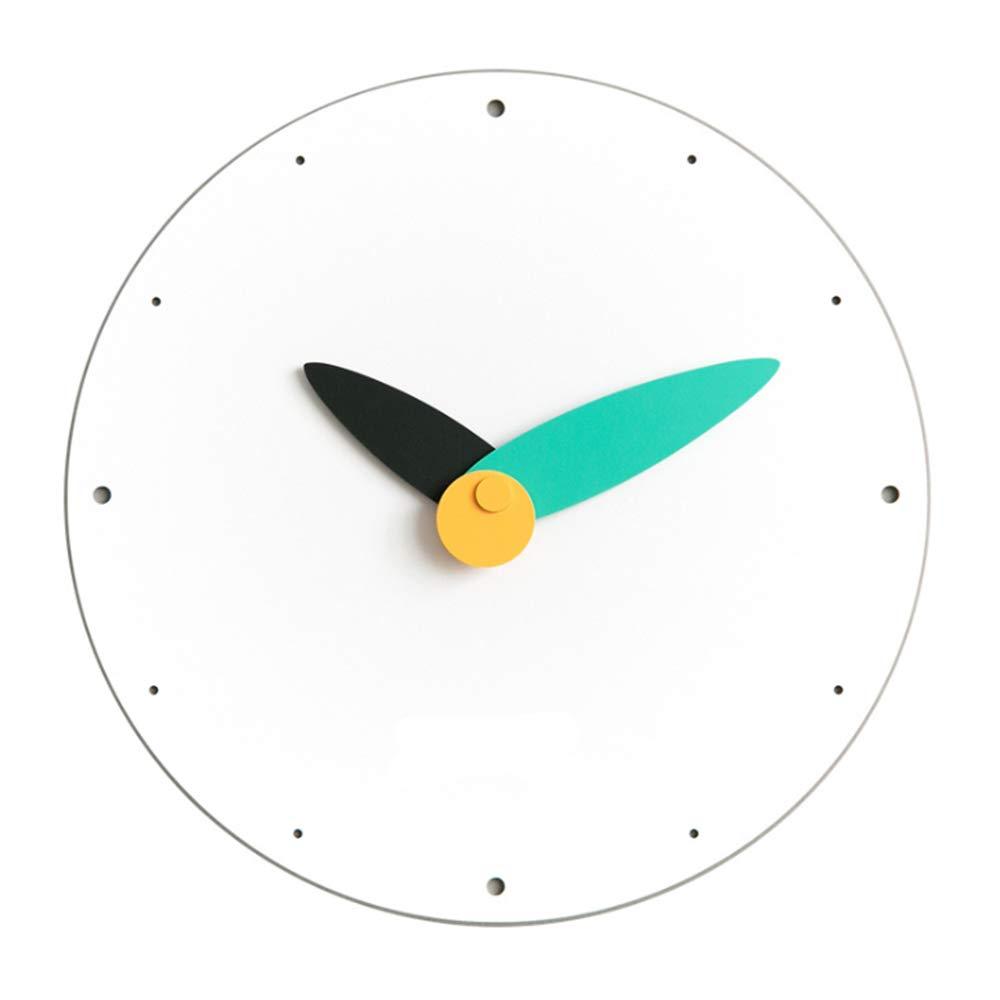 現代の柱時計、家及び台所/居間/オフィスのための12インチの非刻み目がある水晶電池式の無声時計   B07T1W4MZ9