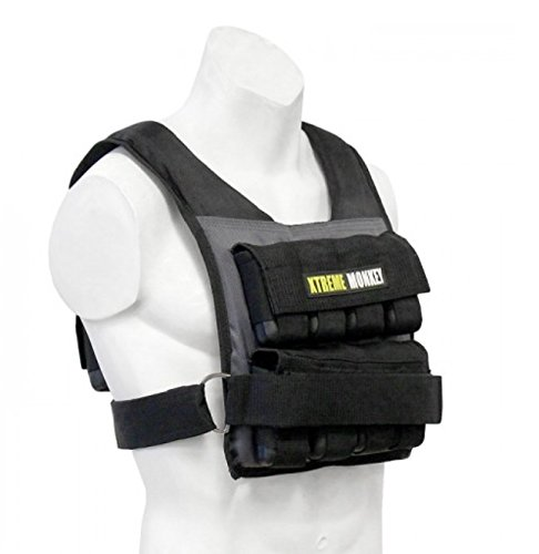 Unified Fitness Extreme Monkey 45 lbs Adjustable Commercial Weighted Vest by Unified Fitness