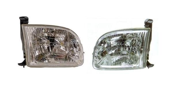 Left Driver LH Regular Access Cab Tail Light for 2000-2006 TOYOTA TUNDRA