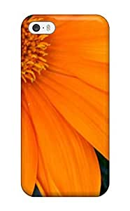 [CKXASwB494Voohw]premium Phone Case For Iphone 5/5s/ Orange Flowers Tpu Case Cover