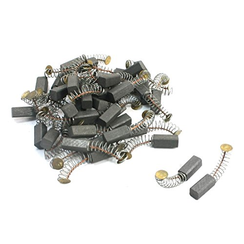 Uxcell Electric Drill Parts Motor Carbon Brush, 13.9mm x 5.8mm x 5.8mm, 40Pcs by uxcell