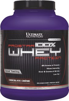 Ultimate Nutrition 100% Whey Low Fat Protein Powder with BCAAs (Chocolate, 5 Pounds)