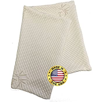 Amazon Com Snuggle Pedic Zipper Removable Pillow Cover By