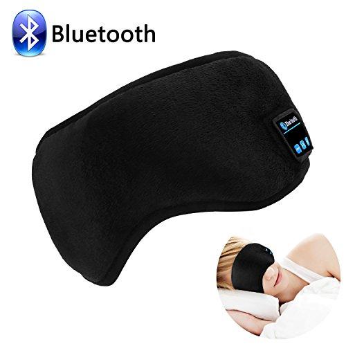 Sleep Eye Mask With Wireless Bluetooth Headphones, WU