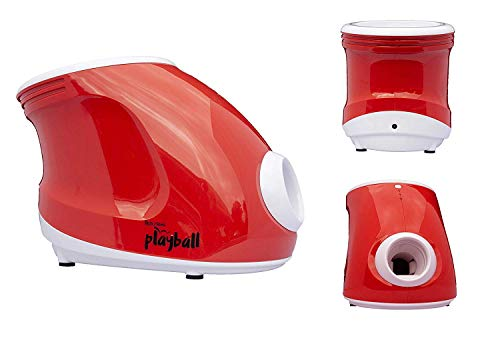 Felix & Fido Playball! Automatic Ball Launcher for Dogs. 3 Throwing Distance Settings, 3 Small Durable Tennis Balls Included, Launches Up to 20 Feet,for Indoor and Outdoor Play.for Small Dogs ONLY by Felix & Fido (Image #1)