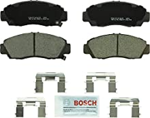 Bosch BC787 QuietCast Premium Ceramic Disc Brake Pad Set For: Acura CL, RL, TL, TSX; Honda Accord, Front