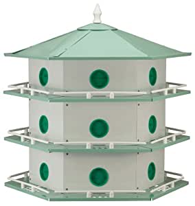 Heath 18-Room Deluxe Purple Martin House & Gourds Kit