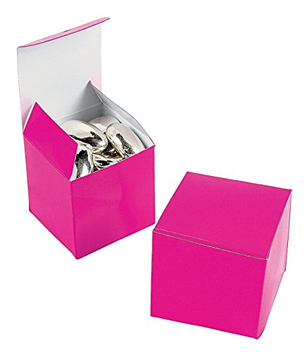Mini Hot Pink Gift Boxes (2 dz)