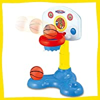 Webby Kids Musical Basketball Board Toy, Multi Color