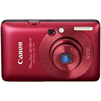 Canon PowerShot SD780IS 12.1 MP Digital Camera with 3x Optical Image Stabilized Zoom and 2.5-inch LCD (Deep Red) Overview Review Image