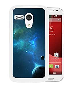 New Beautiful Custom Designed Cover Case For Motorola Moto G With Outer Space Planets (2) Phone Case