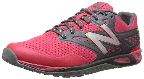 New Balance Women's WX00 Minimus Training Shoe,Pink/Grey,8 D US