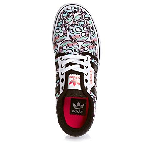 Adidas C76918 Seeley Blanc/Noir/Rouge garçon tendance