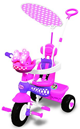 Kiddieland Disney Minnie Mouse Push N' Ride - Ride Trike