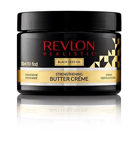 Revlon Realistic Black Seed Oil Strengthening Butter Créme Leave-in Conditioner 10.1 Oz (300ml)