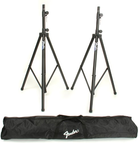 Fender ST-275 Tripod Speaker Stands (Speaker Stand Carrying Bag)