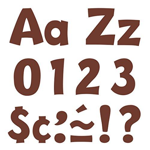 "Chocolate 4"" Playful Combo Ready Letters - TREND enterprises, Inc. T-79745"