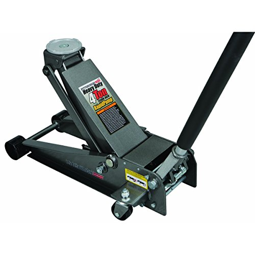 Pittsburgh Pictures 4 Ton Heavy Duty Floor Jack Steel Rap...