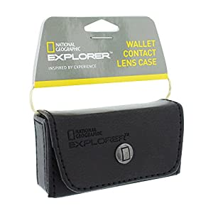 National Geographic Travel Contact Carrying Case For Men And Women In Black