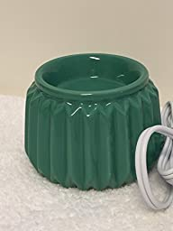 Scentsy Venetian Green Element Candle Warmer