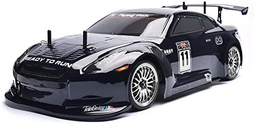 Amazon Com Hsp 1 10 Scale Large Rc Car 35 Kmh Speed Remote Control Car 4wd Electric Power On Road Drift Racing Car 94123 Flyingfish Toys Games