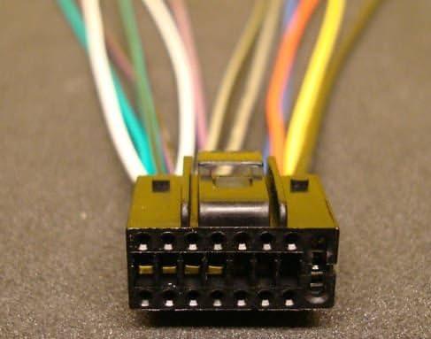 amazon.com: xtenzi 16 pin wire harness power plug compatible with pyle cd  mp3 dvd pldn750d: car electronics  amazon.com