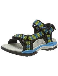 Geox Boy's J Borealis BOY Flat Sandals