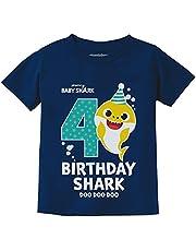 Tstars Birthday Shark Shirts for Toddler 2nd 3rd 4th Birthday Boy Girl Baby Shark Shirt