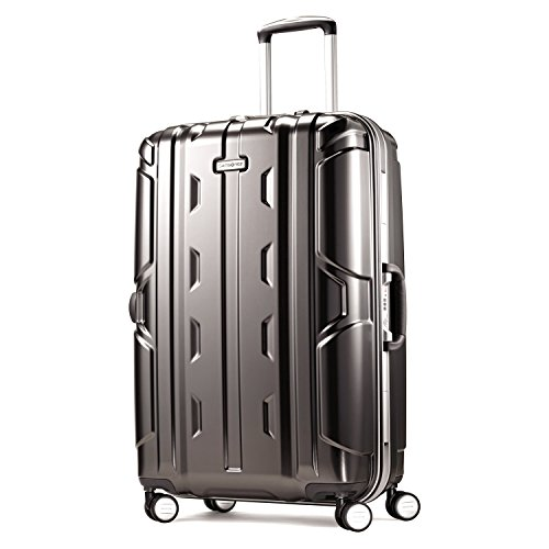 Samsonite Cruisair DLX Hardside Spinner 26, Anthracite, One Size Samsonite Aluminum Locks