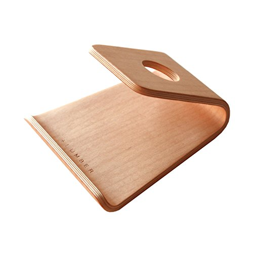 + LUMBER by Hacoa PL027 PLYWOOD SMARTPHONE STAND for cell phone, iPhone and iPad (Maple)