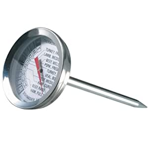Danesco Meat Thermometer Stainless Steel