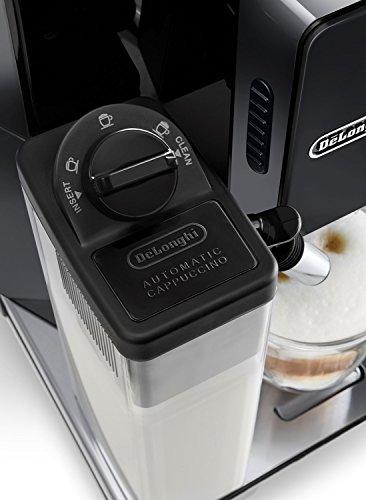 DeLonghi America ECAM44660B Eletta Cappuccino IFD Touch Automatic Espresso Machine, Black