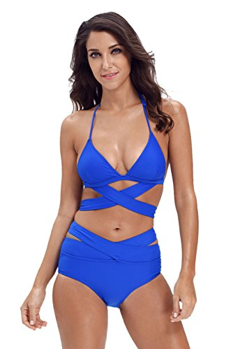 Astylish Womens Bandage Bikini Swimsuit