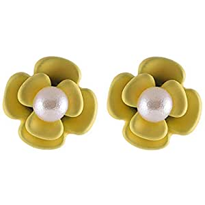 Flying Jewellery Stud Earrings, Push Closure - [CGE27Y]