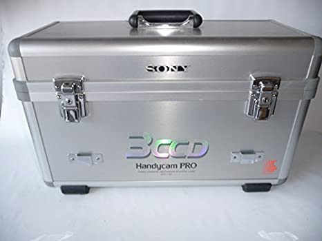 Sony CCD-VX3 professional 3 ccd Hi8 video camera with case 51