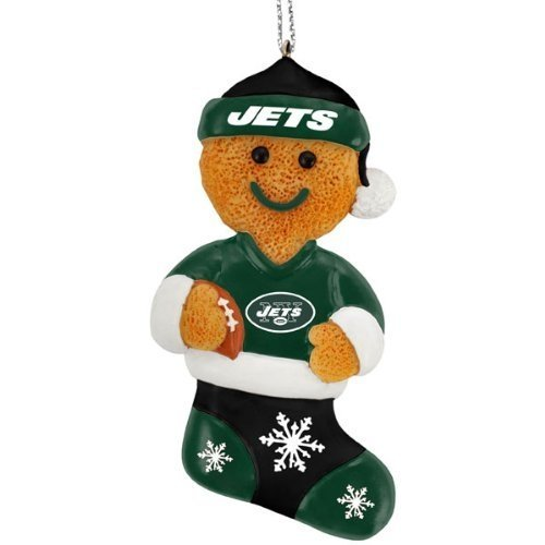 New York Giants Resin Gingerbread Man Ornament