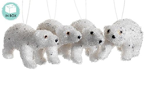 polar bear christmas ornaments - 9