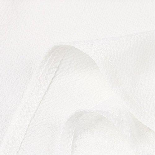 shirts Haut Camis Blouse Sans Col Tops Chemise Vêtements Solide En automne Femmes Gilet T De V Manches Été Hcfkj Débardeurs Tank Mousseline Soie ZYq1ExUw