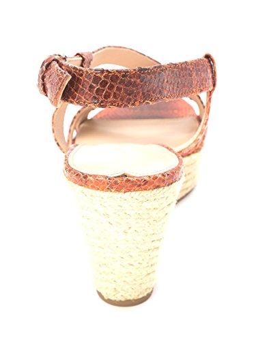 Via Spiga Womens Wendy Leather Open Toe Casual Espadrille Sandals Orange w29CvDf