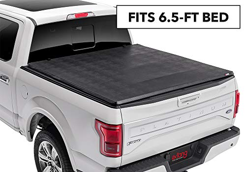Extang eMax Tonno Soft Folding Truck Bed Tonneau Cover | 72450 | fits Chevy/GMC Silverado/Sierra 1500 (6 1/2 ft) 2014-18, 2500/3500HD - 2015-18, 2019 Silverado 1500 Legacy & 2019 Sierra 1500 Limited