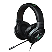 Razer Kraken 7.1 Chroma Sound USB Gaming Headset - 7.1 Surround Sound with Retractable Digital Microphone and Chroma Lighting