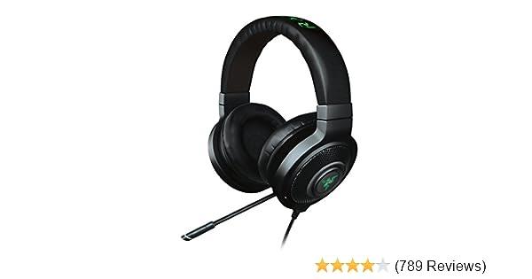 Amazon.com  Razer Kraken 7.1 Chroma Sound USB Gaming Headset - 7.1 Surround  Sound with Retractable Digital Microphone and Chroma Lighting  Computers    ... e6fd92fa92