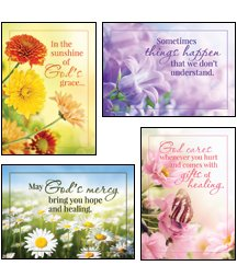 (Sunny Wishes - KJV Scripture Greeting Cards - Boxed - Get Well)